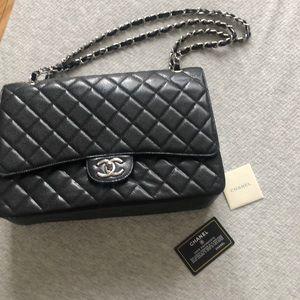Jumbo new Leather Bag